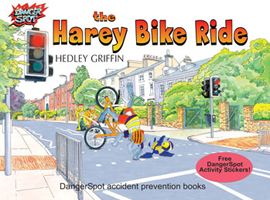 The Harey Bike Ride, cycle safety picture book.