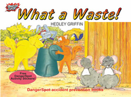 Compost and waste education and the dangers of litter and bad hygiene.
